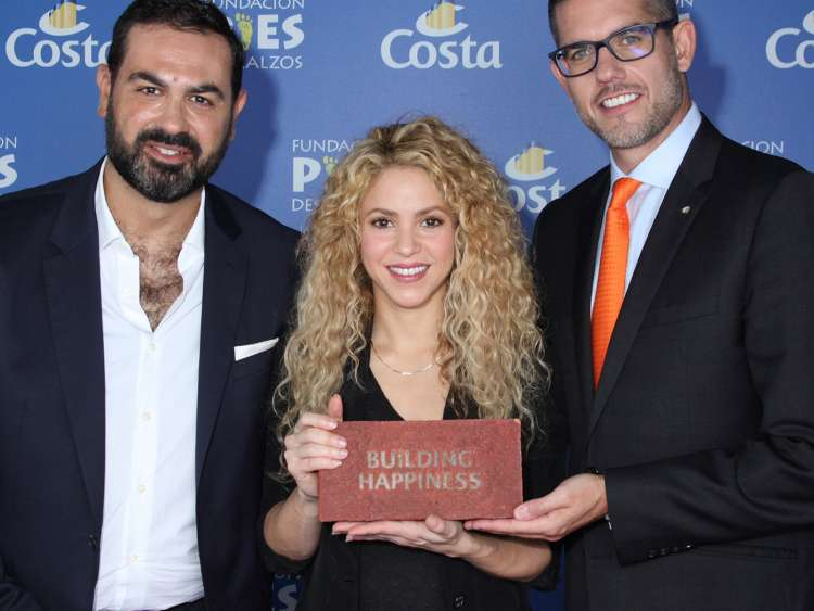 Shakira Building Happiness
