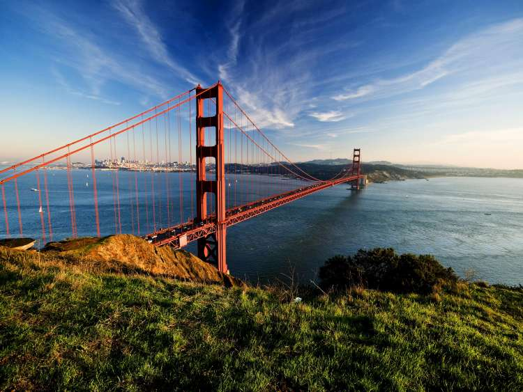 Le Golden Gate de San Francisco en croisière Costa